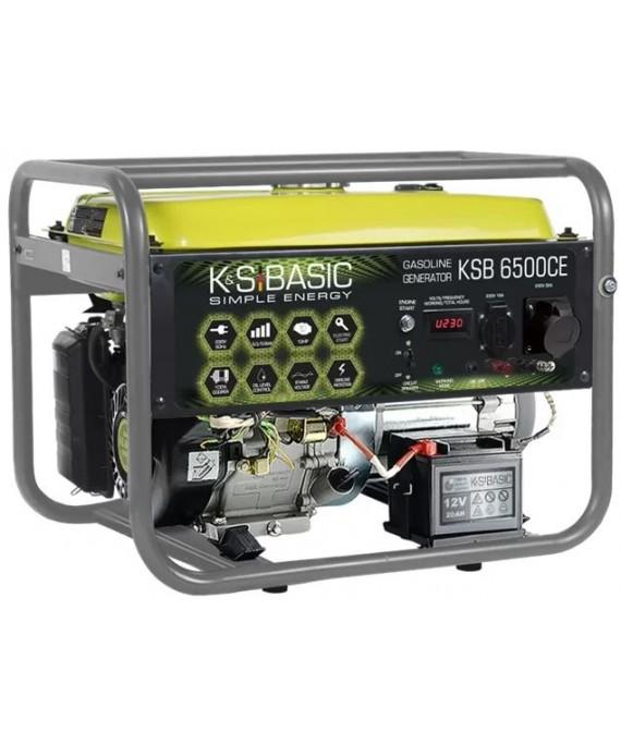 Генератор бензиновий Konner & Sohnen BASIC KSB 6500 РЄ