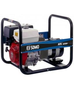 Генератор бензиновий SDMO HX 6000 C