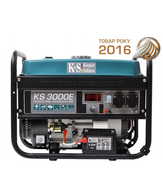 Генератор бензиновий Konner & Sohnen KS 3000E