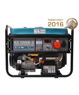 Генератор бензиновий Konner & Sohnen KS 7000E-3