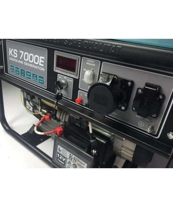 Генератор бензиновий Konner & Sohnen KS 7000E