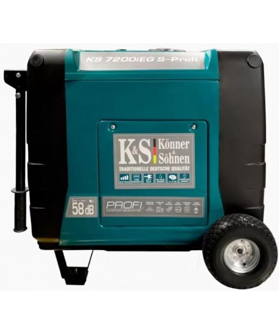 Генератор інверторний Konner & Sohnen KS 7200iEG S-PROFI